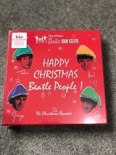 THE BEATLES - CHRISTMAS RECORD VINYL BOX SET, SEALED, FAN CLUB, COLOURED VINYL