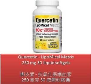 30 S Quercetin - LipoMicel Matrix 250 mg - Natural Factors
