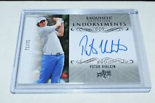 2014 Exquisite Collection Golf Endorsements Peter Uihlein 71/75