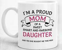 Mom Gifts From Daughter Mom Coffee Mug Mom Birthday Gift Mother's Day Gifts