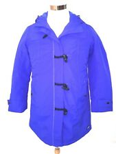 Lands' End Womens Electric Blue Petite Squall Duffle Coat Size S/P New with Tags