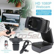 1080P Full HD Computer USB Web Camera + Microphone for Zoom Meeting Skype Face