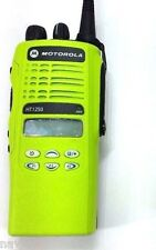Motorola HT1250 UHF 450-512 MHz AAH25SDF9AA5 IMPACT GREEN radio only MDC1200
