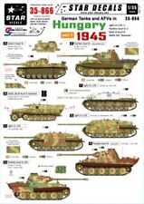 Hungarian Aero Decals 1//35 GERMAN WWII ARMOR TURRET NUMBERS YELLOW Part 3