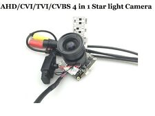 CCTV Starlight AHD/CVI/TVI/CVBS 4 in1 2.0MP Full HD 1080P Super Starlight Camera