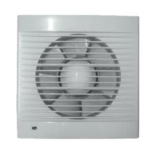 """Morris Extractor Fan 4"""" for Bathrooms and Kitchens Fast Extraction 120 CBM Hour"""