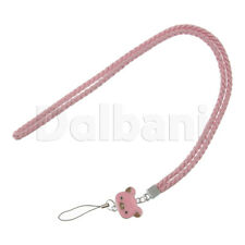Multifunctional Lanyard Large Pink Bear Face for Android Devices