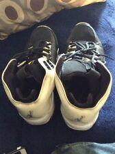 Nike Air Jordan High Rise White/Black Basketball Shoes 315830-171 Men's Sz  12