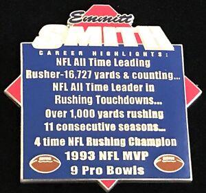 Emmitt Smith Career Highlights Collectors Pin Dallas Cowboys