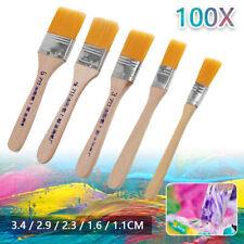 100tlg Malerpinsel Set Farbpinsel Flachpinsel Lackpinsel Eckenpinsel Lasur Satz