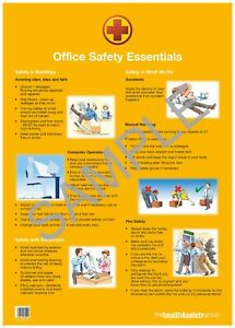 Office Safety Poster - (A2)