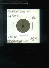 CR) Coal Scrip Amherst Coal Co 5 cent R-6 Amherstdale WV