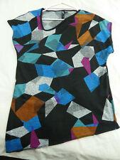 TS Taking Shape XXS Multicoloured Knitted Top Angular hemline neckline