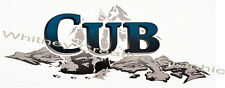 """""""CUB""""  RV LOGO Graphic decal lettering 39.75""""X15.75"""""""