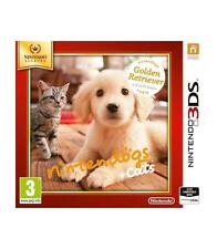 3ds Nintendogs gatos Golden Retiever Selects