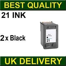 2BK ink CARTRIDGE Unbrand fit for HP 21XL Deskjet F2280 F22655 F4100 F4140 F4172