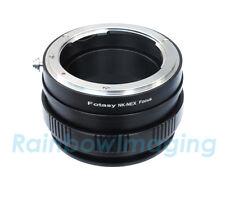 Nikon Lens to Sony NEX a6500 a6000 a5100 a5000 Adapter/ Macro Focusing Helicoid