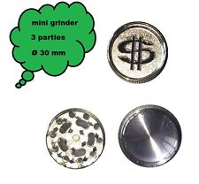 mini grinder Ying/&Yang métal 3 parties 30 mm broyeur Grinder moulin