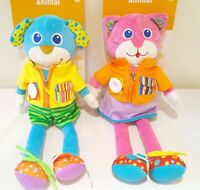 Teach & Learn Animal Toy - Zip, Button, Rattle - 18 months plus Baby NEW
