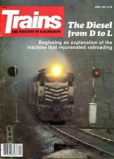 Trains Magazine April 1979 The Diesel from D to L