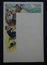 Rare MENU CHAMPAGNE MOET et CHANDON White Star bateau marin sailing
