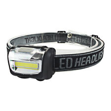 COB LED Headlamp Mini Headlight Flashlight Rainproof Camping head Torch Lantern
