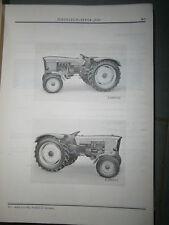 John Deere 710 tracteur : ersatzteilliste 1968