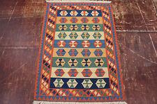 nomades Kelim très bien pièce unique PERSAN TAPIS tapis d'Orient 1,45 x 1,02