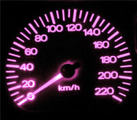 Pink LED Dash Instrument Cluster Light Conversion Kit for Hyundai Accent LC