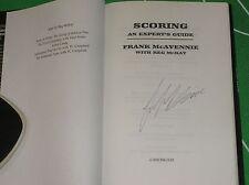 """Copie signée de """"un guide des experts de notation"""" livre par Frank McAVENNIE celtique marteaux"""