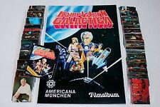 Americana 1978 lotta Stella Galactica-Set Completo Complete Set + album + bustina