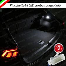 PLACCHETTA A LED BAGAGLIAIO 18 LED PEUGEOT 3008 MPV 6000K BIANCO CANBUS