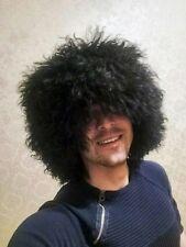 papakha papaha sheepskin fur hat Russia Caucasus  black winter super hat