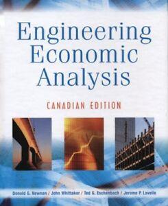 Engineering Economic Analysis Hardcover Canadian Edition 2006 + (1 CD-ROM)