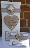 Vintage Wedding Card Post Box, Wedding Guest Book, Wedding Gifts, Wishing Well,