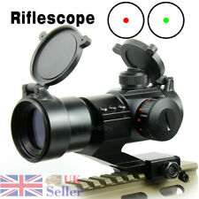 Red Green Dot Sight Reflex Tactical 3 MOA With Rail 20mm Mount For Airsoft Scope