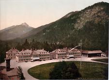 Deutschland, Wildbad Kreut. vintage print photochromie, vintage photochrome