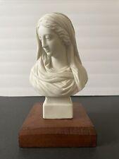 Antique CLASSICAL PARIAN BUST Woman  Robinson & Leadbeater English Porcelain