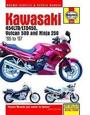 1985-2007 Haynes Kawasaki 454LTD/LTD450 Vulcan 500 & Ninja 250 Hardback Repair M