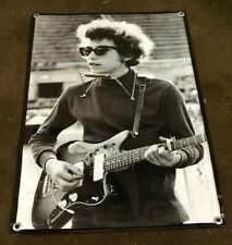 Bob Dylan Gibson guitar poster Harmonica sunglasses banner concert sign B205