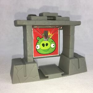 Hot Wheels Track Angry Birds Slingshot Launch Grey Wall Part Y2410 n97