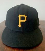 New Era Pittsburgh Pirates 7 1/2 59Fifty Fitted Hat (Black) MLB Cap Authentic