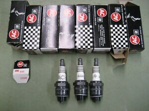 New AC 444 High Performance Spark Plugs 1955-1970 Chevy Small Block 283 327 350