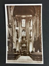 Vintage RPPC: Cambs: #T21: Interior, Peterborough Cathedral