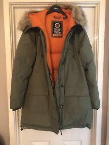 Ladies SUPERDRY coat XL