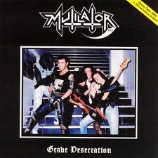 Mutilator - Grave Desecration + Live, 1985 (Bra), CD
