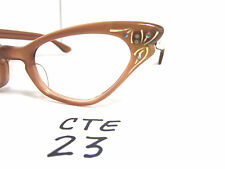 Authentic Vintage SELECTA Small Fit 1950s/60s Cat Eye Eyeglass Frame (CTE-23)