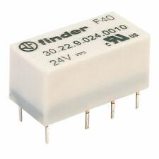 Finder 30.22.9.024.0010 24V Relay DPDT DC BT47W/7