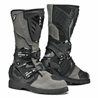 Sidi Adventure 2 Moto Motorcycle Bike Gore-Tex Boots Grey / Black