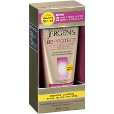 Jergens BB Body Cream for All Medium-Deep Skin Tones, 6 Oz (Exp 11/16)
